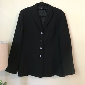 Ann Taylor Black Women's Suit (blazer and pants)